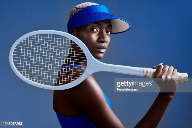 they respect me when i walk onto the court - tennis player stock pictures, royalty-free photos & images