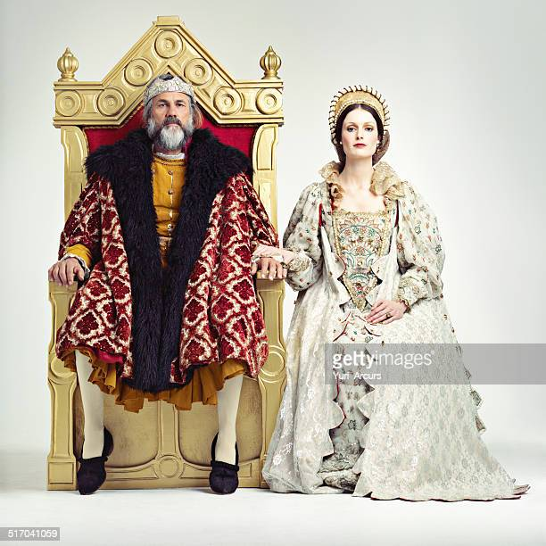 they rule sternly but fairly - king royal person stock photos and pictures