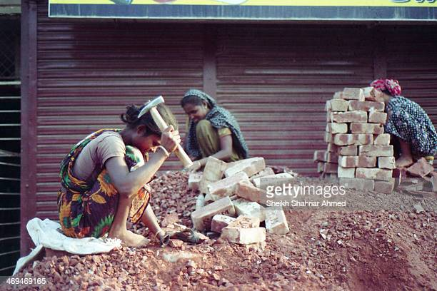 They smash bricks with sheer force, but life smashes them even harder. Yet they smile...