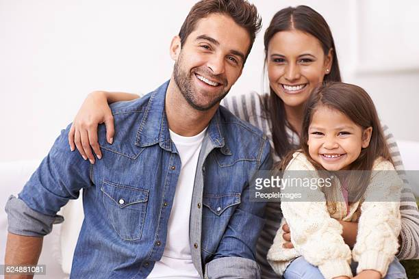 they treasure each other - family with one child stock pictures, royalty-free photos & images