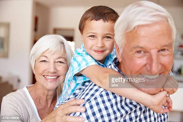 Sie wahre ihren Enkel