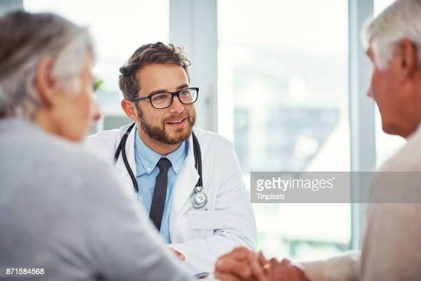 Vertrauen sie ihm für seine kompetente medizinische Beratung