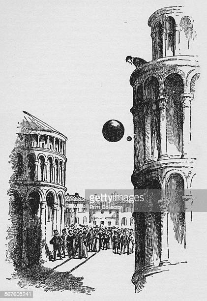 'They were seen to fall evenly' c1918 In 1589 the Italian scientist Galileo Galilei dropped two balls of different masses from the Leaning Tower of...