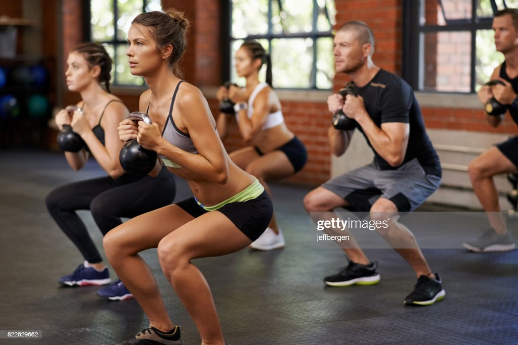 They'll achieve their fitness goals together : Stock Photo