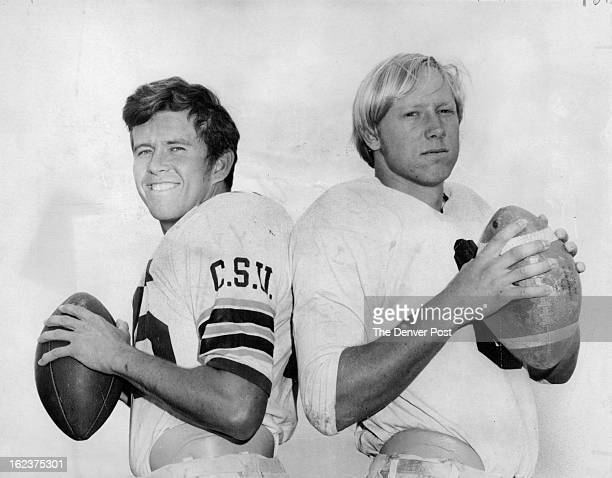 MAY 20 1971 They'll Be Foes In CSU Spring Football Game Jim Erickson the No 1 quarterback after Colorado State University spring drills will...