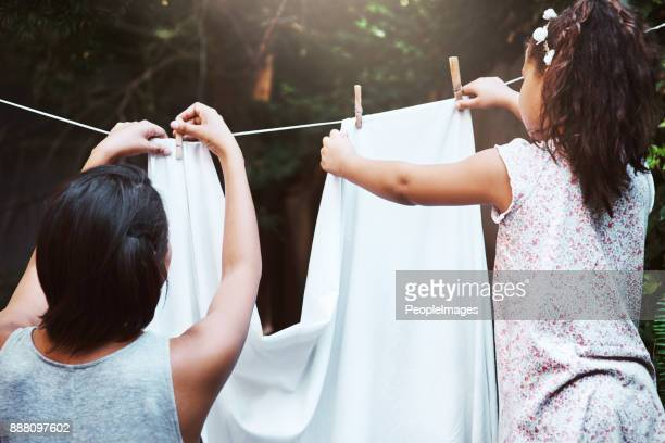 they'll dry in no time - clothesline stock pictures, royalty-free photos & images