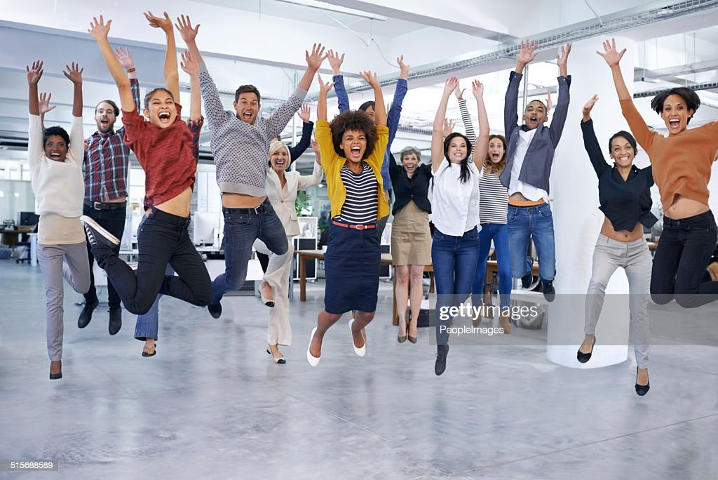They'll jump at the chance to help you out : Stock Photo