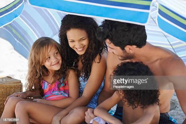 Sie sind eng verbundener Familien