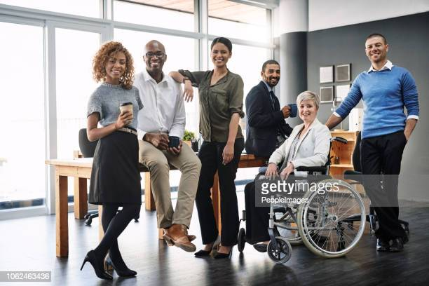 they're a diverse and dynamic team - multiracial group stock pictures, royalty-free photos & images