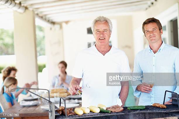 They're a dynamic father/son cooking duo!