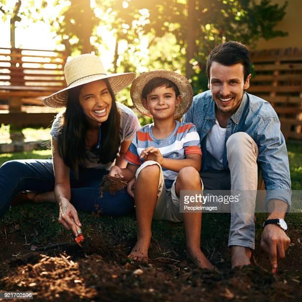 Ils ont une famille qui aime la connexion avec la nature