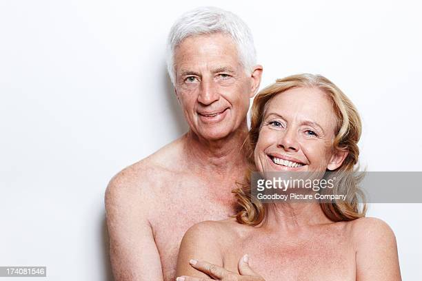 they're always themselves with one another - naturism stock photos and pictures