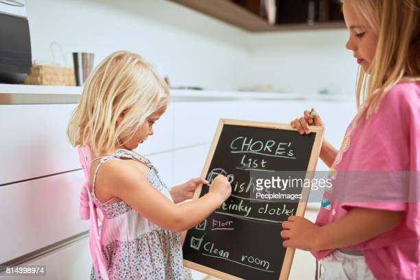 they're always willing to help with housework - chores stock pictures, royalty-free photos & images