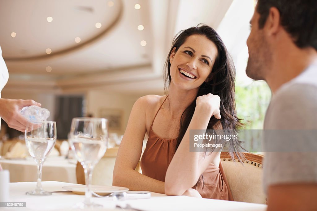 They're celebrating a very special day : Stock Photo