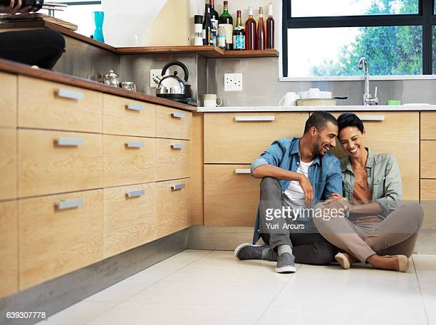 they're home is filled with love and laughter - home ownership stock pictures, royalty-free photos & images