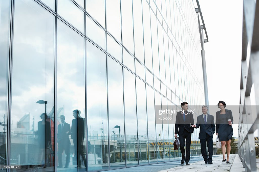 They're king players in the game of business : Stock Photo