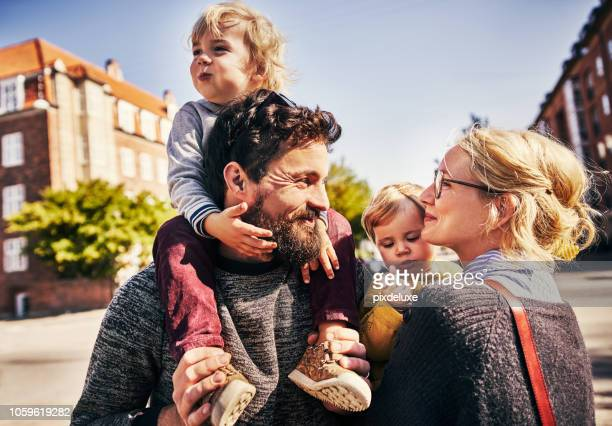 they're one happy family - nordic countries stock pictures, royalty-free photos & images