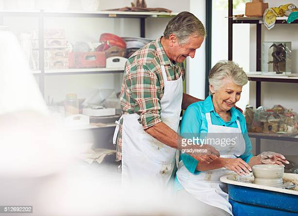 they're passionate about pottery - couples making passionate love stock pictures, royalty-free photos & images