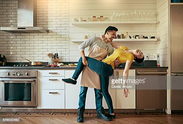they're the most fun couple out there - dancing stock photos and pictures