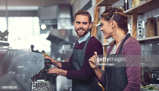 They're the people you want making your coffee