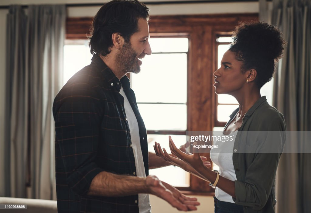 They've both reached breaking point : Stock Photo