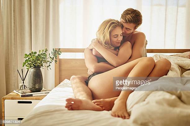 they've got a deeply intimate connection - embracing stock pictures, royalty-free photos & images