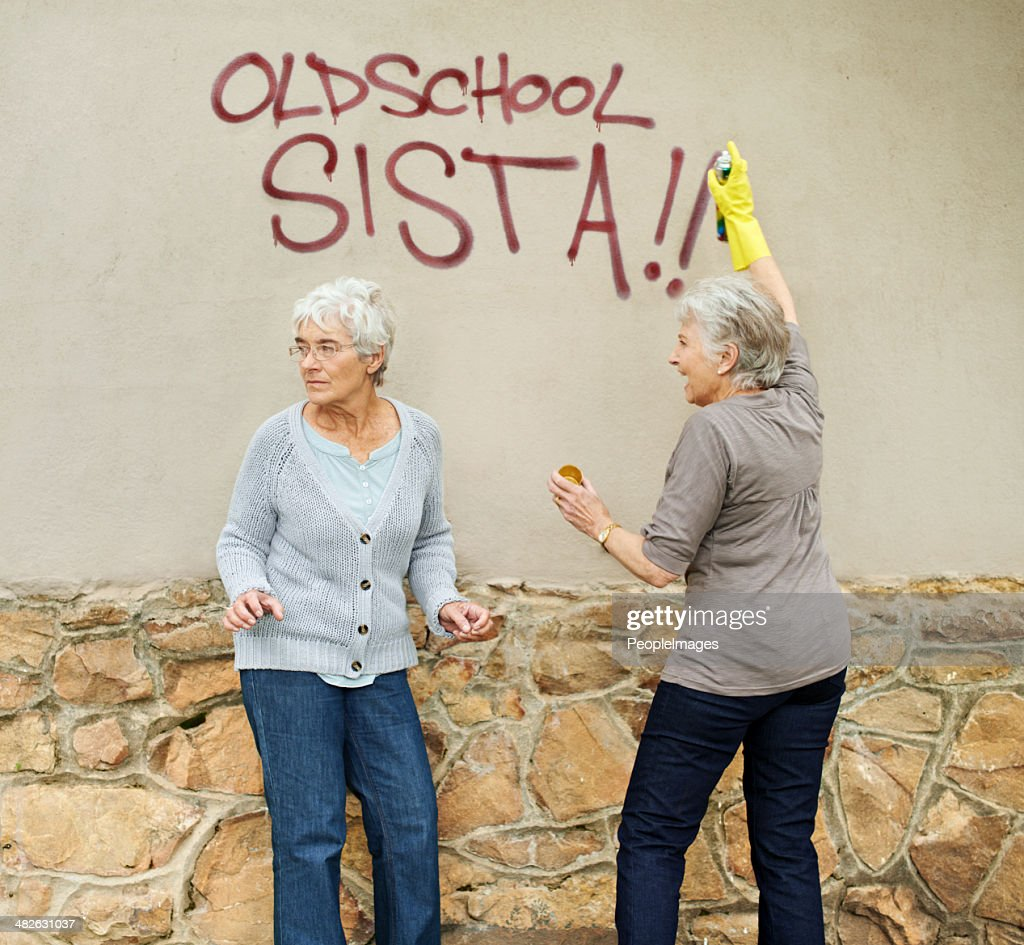 They've got street cred! : Stock Photo
