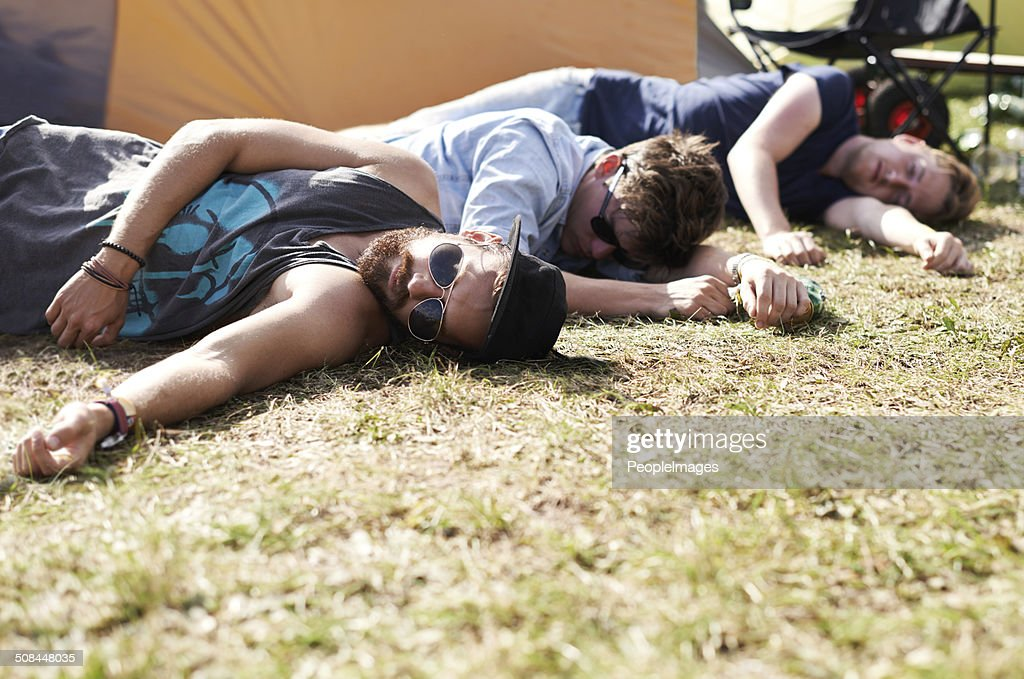 They've had one too many... : Stock Photo