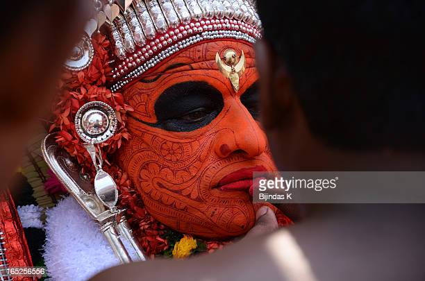 CONTENT] Theyyam is a Hindu ritual form of worship of Malabar in Kerala India predominant in Kannur and Kasargod districtsThe myths and legends of...