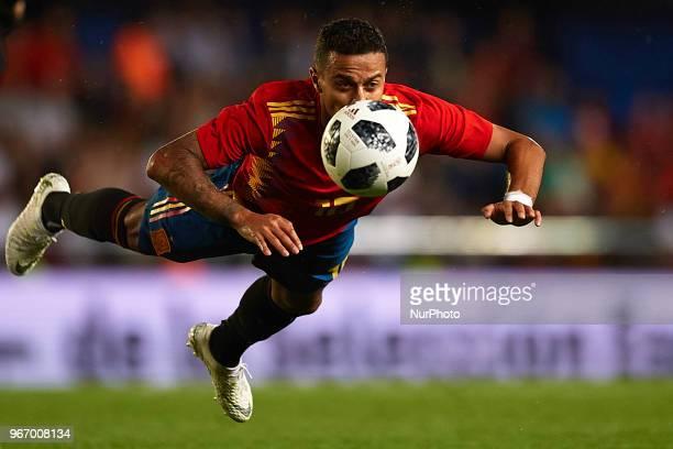 Thiago Alcantara during a International friendly match between Spain against Switzerland in La Ceramica Stadium Villarreal Spain on 03 June of 2018
