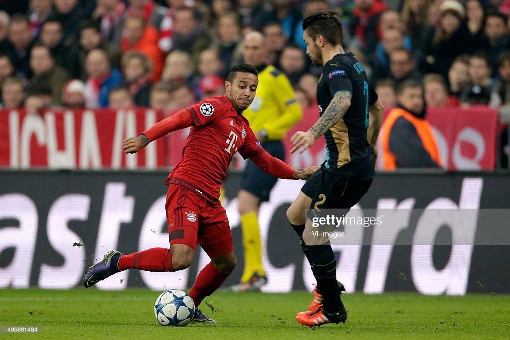 UEFA Champions League - 'FC Bayern Munich v Arsenal' : News Photo