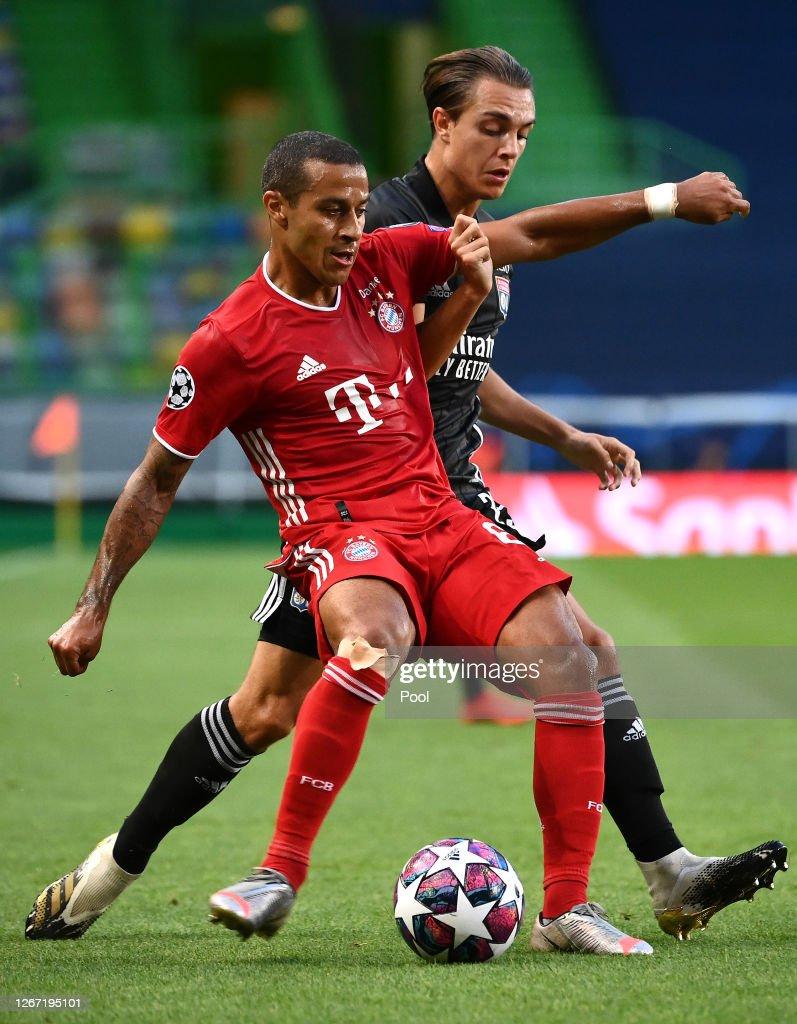 Olympique Lyonnais v Bayern Munich - UEFA Champions League Semi Final : News Photo