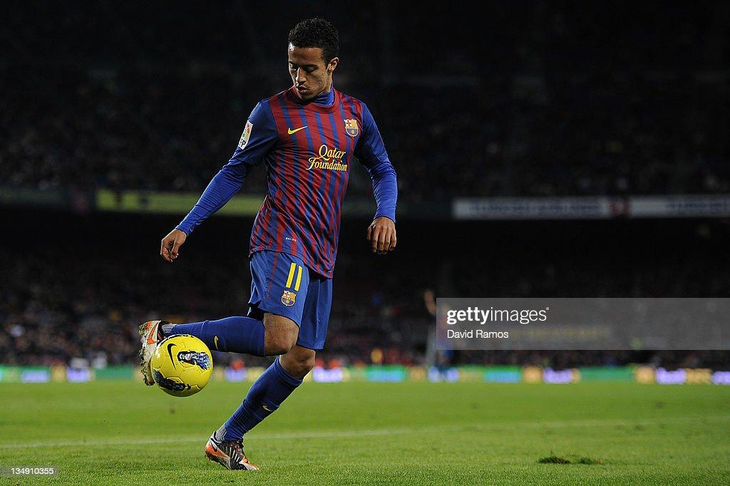FC Barcelona v Rayo Vallecano - Liga BBVA : News Photo