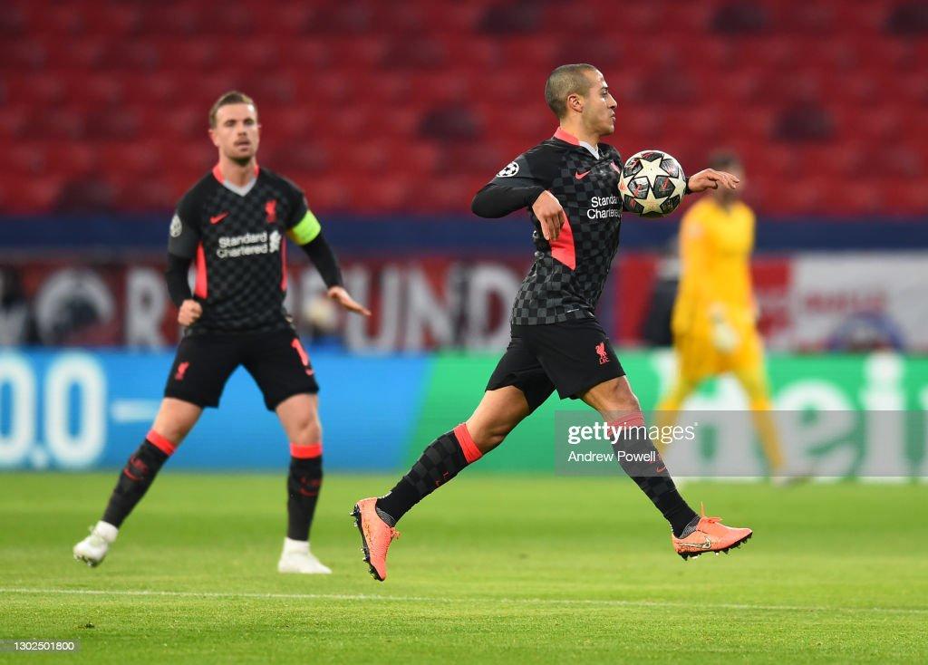 RB Leipzig v Liverpool FC  - UEFA Champions League Round Of 16 Leg One : News Photo