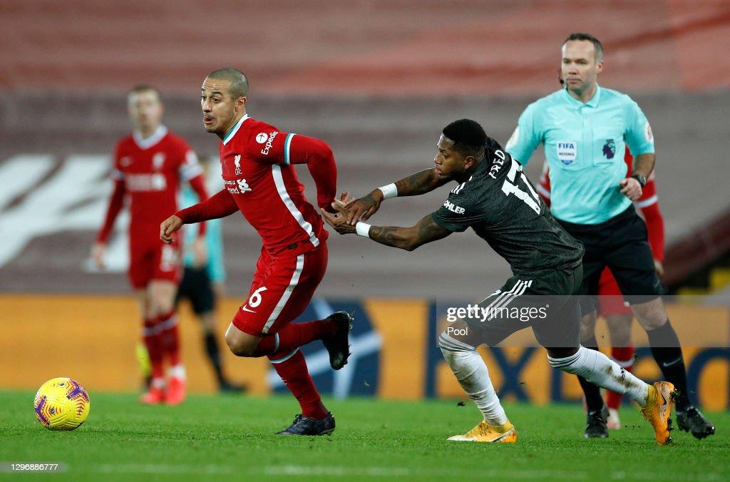 Liverpool v Manchester United - Premier League : ニュース写真