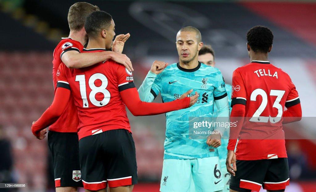 Southampton v Liverpool - Premier League : ニュース写真