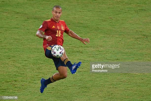 Thiago Alcantara of Spain during the match between Spain and Sweden of Euro 2020, group E, matchday 1, played at La Cartuja Stadium on June 14, 2021...