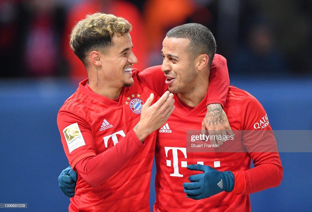 Hertha BSC v FC Bayern Muenchen - Bundesliga : Nachrichtenfoto