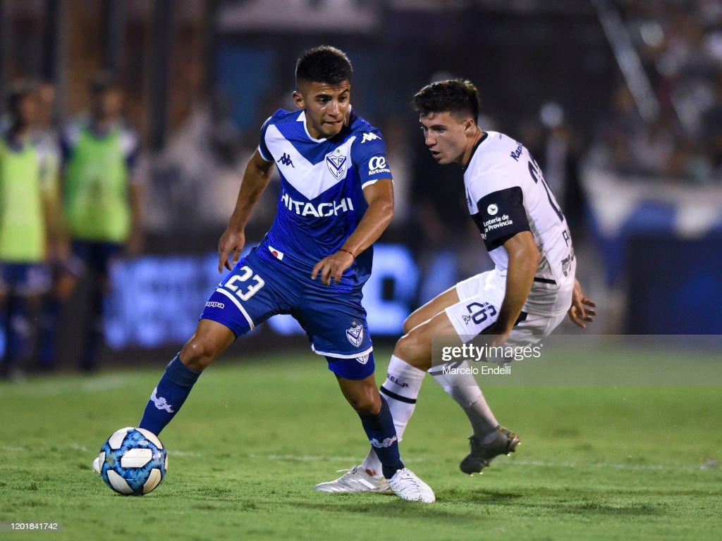 Gimnasia y Esgrima La Plata v Velez- Superliga 2019/20 : News Photo