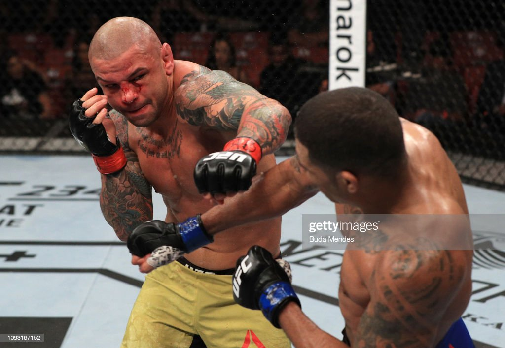 UFC Fight Night: Alves v Griffin : News Photo