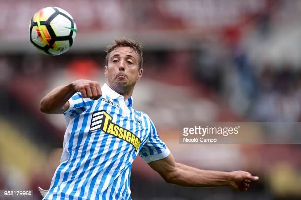 Thiago Cionek of Spal in action during the Serie A football match between Torino FC and Spal Torino FC won 21 over Spal