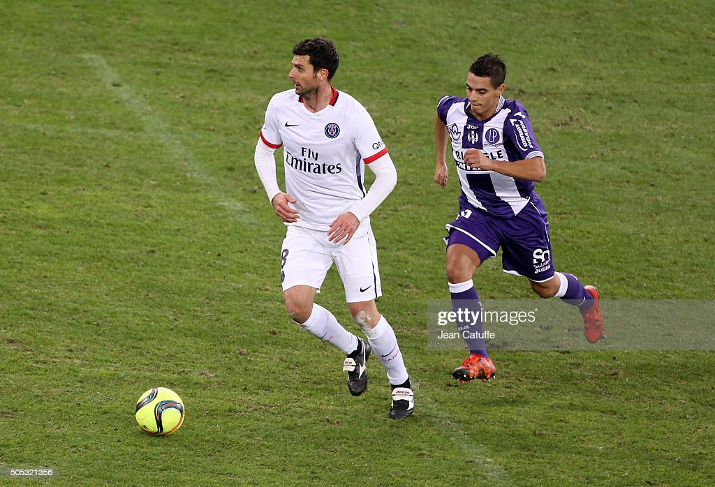 Toulouse FC v Paris Saint-Germain - Ligue 1 : News Photo