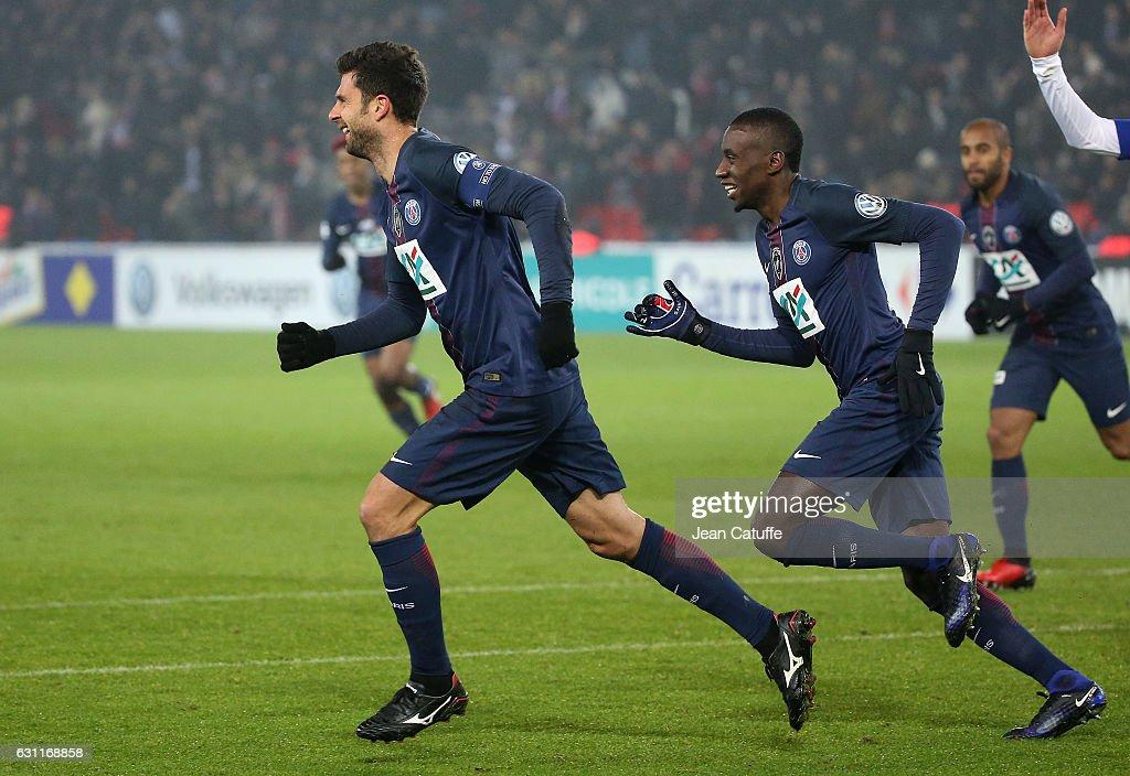 Paris Saint-Germain v SC Bastia - French Cup : News Photo