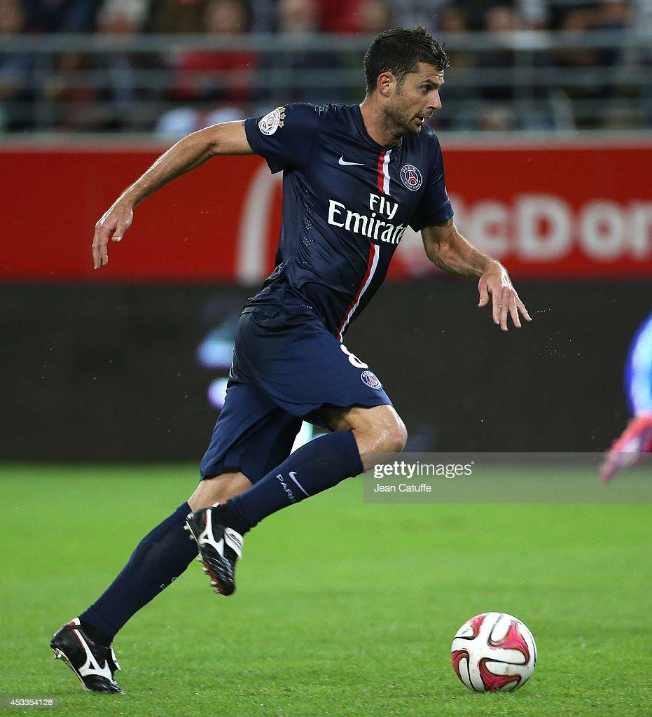 Paris Saint Germain V Estac Troyes Ligue 1: Thiago Motta Of PSG In Action During The French Ligue 1