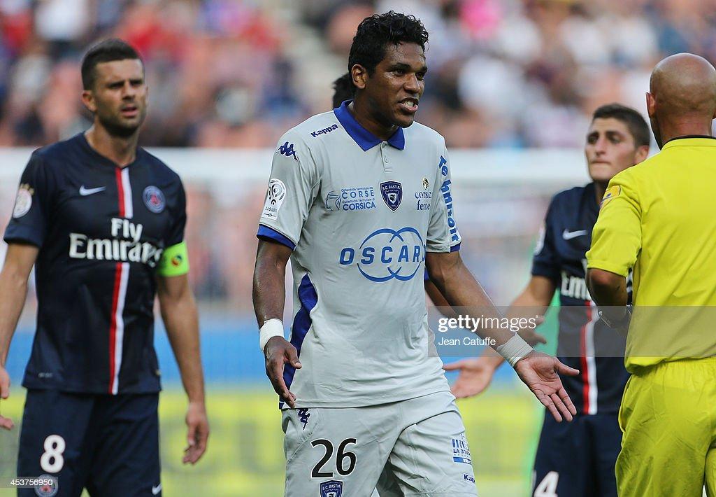 Paris Saint-Germain FC v SC Bastia- Ligue 1 : Photo d'actualité