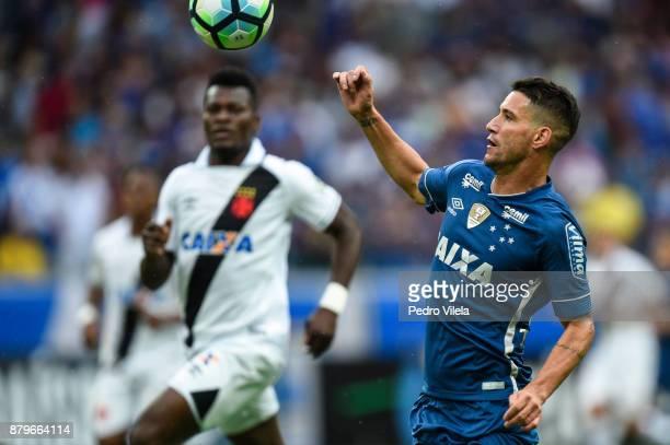 Thiago Neves of Cruzeiro a match between Cruzeiro and Vasco da Gama as part of Brasileirao Series A 2017 at Mineirao stadium on November 26 2017 in...