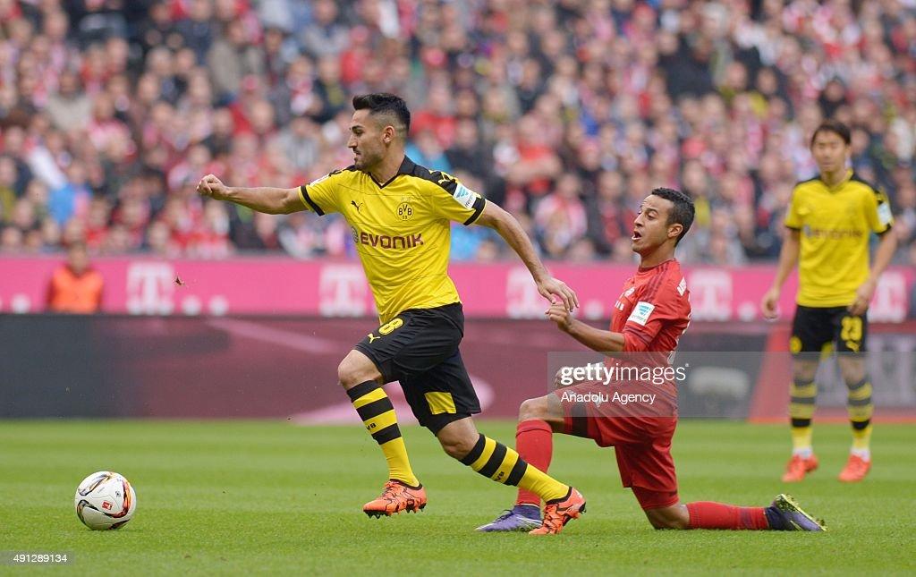 Bayern Munich vs Borussia Dortmund - Bundesliga : News Photo