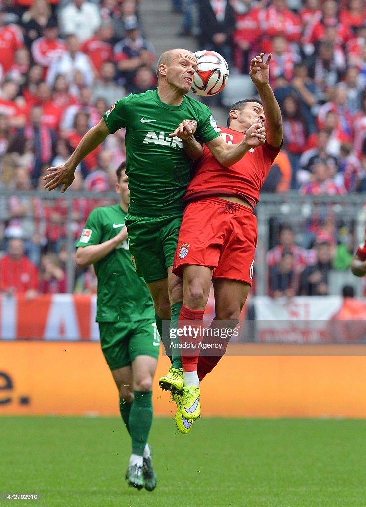 FC Bayern Muenchen v FC Augsburg - Bundesliga : News Photo