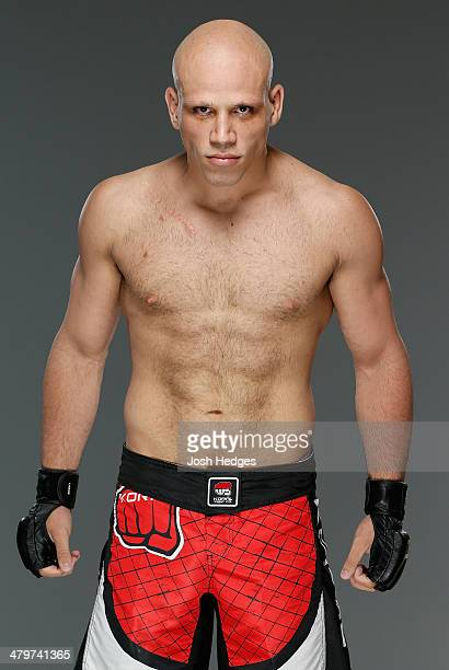 Thiago Perpetuo poses for a portrait during a UFC photo session on March 20 2014 in Natal Brazil