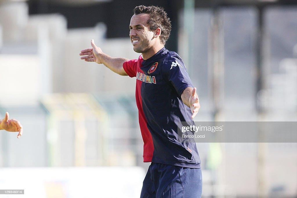 Cagliari Calcio v AC Siena  - Serie A